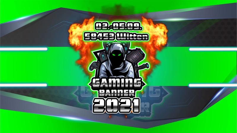Die Gamingbanner LAN 2021 - 02.-05.09.2021 in Witten