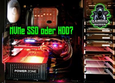 GamingPC 2021: NVMe, SSD oder doch HDD? Wir klären auf!